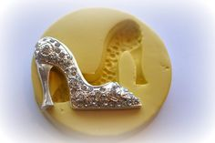 0553 XL Jumbo Fancy High Heel Shoe Silicone Rubber by MasterMolds, $9.00