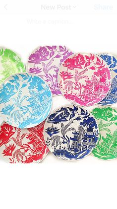 This listing is for ONE melamine chinoiserie dinner plate These plates are dishwasher and microwave safe They measure 10 Available in pink, royal blue, Kelly green, lime green, turquoise, purple or navy blue Add a monogram! Please leave monogram in aBc order as well as color combination and COLOR choice for plate in the notes/comments section when you check out! If you would like multiples please convo for a listing! Convo with any questions