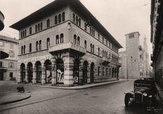 New construction in front of Plinio's gallery - Archivio Masciadri