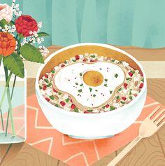 Quinoa Food Illustration on Behance