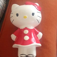 Sanrio Hello Kitty Bank This is a ceramic bank stamped Sanrio Sanrio Other