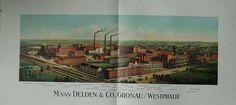 Gronau Firma van Delden & Co. schöner Lichtdruck 76x36 cm — Plakate;Poster