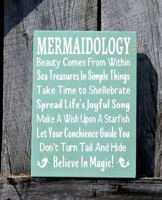 Inspo from our friends! Mermaid Beach Signs, Beach Rules House Decor, Unique Cottage Ocean Theme Wood Sign Bedroom Bathroom Nautical Coastal Advice Poem Plaque