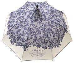 Amazon.com: Chantal Thomass 211 RUE ST HONORE Lace Print Umbrella - White: Clothing