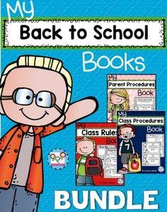 Back to School Books Bundle