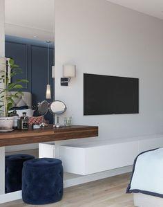 70 Best Minimalist Bedroom Design You Must Try Modern Bedroom Design, Interior Design Living Room, Living Room Decor, Bedroom Decor, Bedroom Rustic, Bedroom Ideas, Apartment Interior, Apartment Design, Hotel Room Design