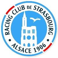 Racing Club of Strasbourg - Alsace (French League Strasbourg, Alsace, Club, French League, Football Kits, Logo Design, Sports Logos, Soccer, Racing