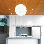 wood and shiny white Interior Design Magazine, Cafe Design, Barn Doors, Kitchen And Bath, British Columbia, Cool Kitchens, Architecture Design, Kitchen Ideas, Compact