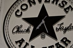 Converse clock by andrewmalone, via Flickr