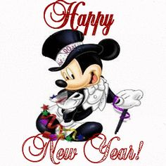 Mickey Mouse Happy New Year image 2017