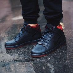 "Make the holidays spooky. The Nike Dunk CMFT QS ""Coffin"" is in stock at kickbackzny.com."
