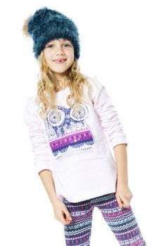 A colorful graphic print adds natural charm to the Owl Print Pink T-Shirt from our Be Hoo You Are collection. See more children's clothes at DeuxParDeux.com // Deux Par Deux // kids clothes // kid style // fashion for kids