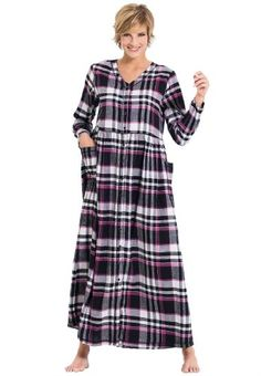 Only Necessities Plus Size Broomstick Maxi Lounger Laguna