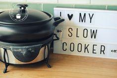 Hoe werkt een slowcooker? | Eetspiratie Cooks Slow Cooker, Crock Pot Slow Cooker, Crock Pot Cooking, Slow Cooker Recipes, Cooking Recipes, Best Cooker, Multicooker, Pasta, No Cook Meals