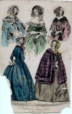 1841. fashions for January.