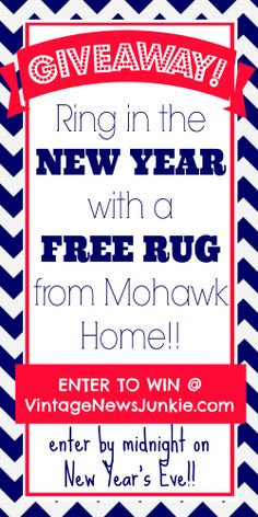 Win a FREE Area Rug from Mohawk Home #ilovemymohawkrug