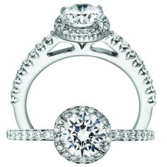 Like this ring? Check out our other selections at     http://www.diamondconnectiononline.com/engagementrings/engagement-rings/ Engagement Ring by #Ritani  #EngagementRing #Diamond #Wedding #TheDiamondConnection #Jewelry