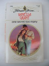 One Secret Too Many by Vanessa Grant (1991, Paperback)