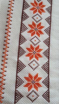 Evet buda bitti Cross Stitch Bookmarks, Cross Stitch Bird, Cross Stitch Borders, Cross Stitch Samplers, Cross Stitch Flowers, Cross Stitch Designs, Cross Stitching, Cross Stitch Embroidery, Embroidery Patterns