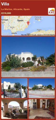 Villa in La Marina, Alicante, Spain ►€219,000 #PropertyForSaleInSpain