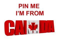I'm from Canada