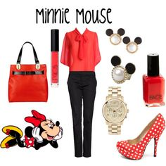 Minnie Mouse inspired :))