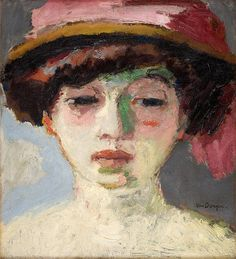 Fernande Olivier (while she was living with Picasso) by Kees van Dongen, 1907