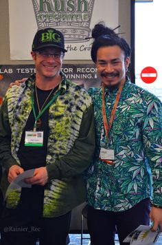 @Dopemag Brandon rockin that weed pattern shirt like No other!! #greatvibes #legalweed #CannaCon2015
