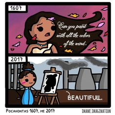 This 15 Year Old's Disney Themed Comics Are Hilarious