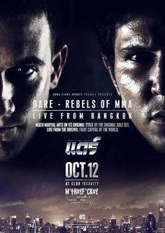 DARE: Rebels of MMA Ergebnisse - Results