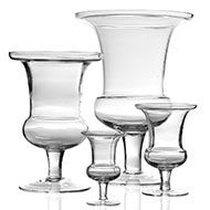 Accent Decor - Clear Glass | AYRE VASE  Quality glass with a classic shape