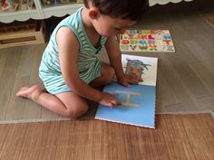 Letter practice with Balthazar book collection #montessori #letterpractice
