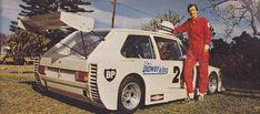 Retro VW Golf Mk1 Race Car