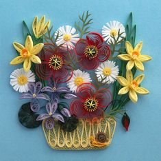 Quilling is a beautiful form of art. How wonderful to be able to obtain patterns for free.