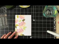 SAF 2016: Impressionistic Florals with Melissa Phillips - YouTube