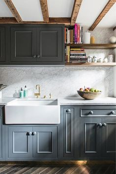 Beautiful Kitchen Cabinets Cat 708 Best Kitchens Images In 2019 Diy Ideas For Home Elixabeth Roberts Via Desire To Inspire With A Low Ceiling And Natural Light