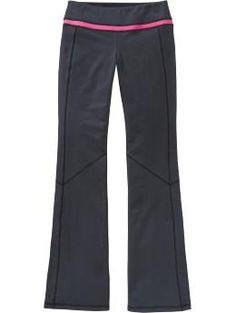 Yoga pants!