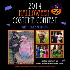2014 Halloween Costume Contest - Enter for a Chance to Win Prizes! halloween costumes, costum contest, costum idea