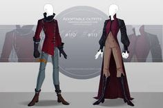 [CLOSED-Auction] Adoptable outfit by Eggperon on DeviantArt Anime Outfits, Cool Outfits, Fashion Outfits, Fashion Design Drawings, Fashion Sketches, Drawing Clothes, Character Outfits, Costume Design, Manga Anime