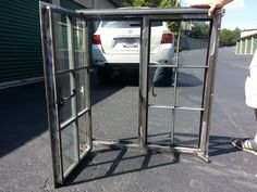 Tudor Artisans - Example Steel Windows Metal Window Frames, Steel Frame Doors, Metal Windows, Casement Windows, Windows And Doors, Simple Furniture, Steel Furniture, Industrial Furniture, House Window Design