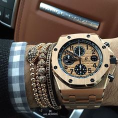 Audemars Piguet Royal Oak Offshore Chronograph Pink Gold