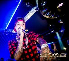 Tyga in Aqwa Mist Nightclub in Marbella #marbella #tyga #party