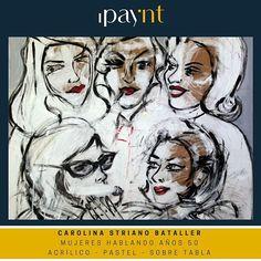 "Obra de @carolst ""Puppet"" #tabla #pastel #acrilico #talento #enventa ipaynt.com"