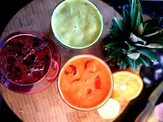 Detox Juice Tricolour - The Londoner