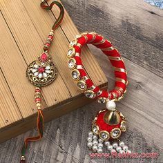 Silk Thread Bangles Design, Silk Bangles, Thread Jewellery, Fabric Jewelry, Gota Patti Jewellery, Buy Rakhi Online, Handmade Rakhi Designs, Black Corn, Marriage Jewellery