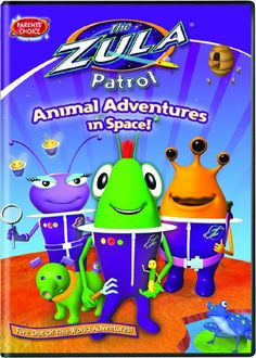 The Zula Patrol: Animal Adventures In Space!, 2009 Parents' Choice Award Silver Award - DVDs #DVD