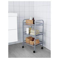 IKEA - DRAGGAN Cart silver color