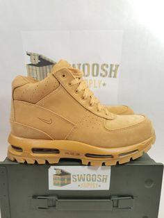4bcd1861fa80 Nike Air Max Goadome ACG QS Flax Boot Gum Light Brown 886991-220 Men s SIZE  8 9