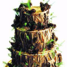 This is pretty amazing. #Tree cake.
