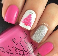 Cute x-Mas nails